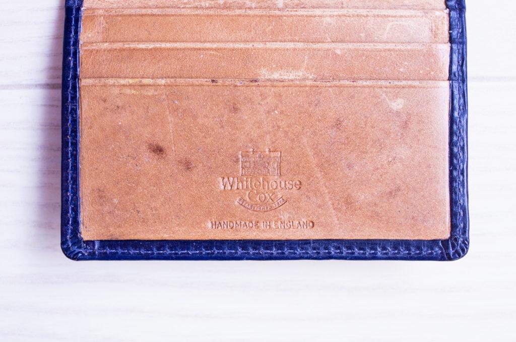 ホワイトハウスコックス カードケース