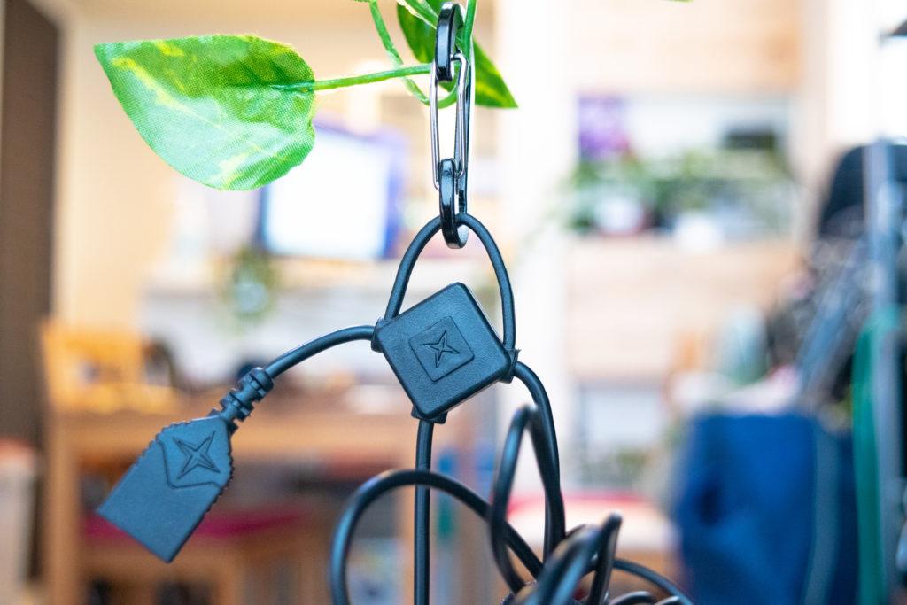 ベアボーンズのエジソンペンダントライトの連結用USBコネクタ