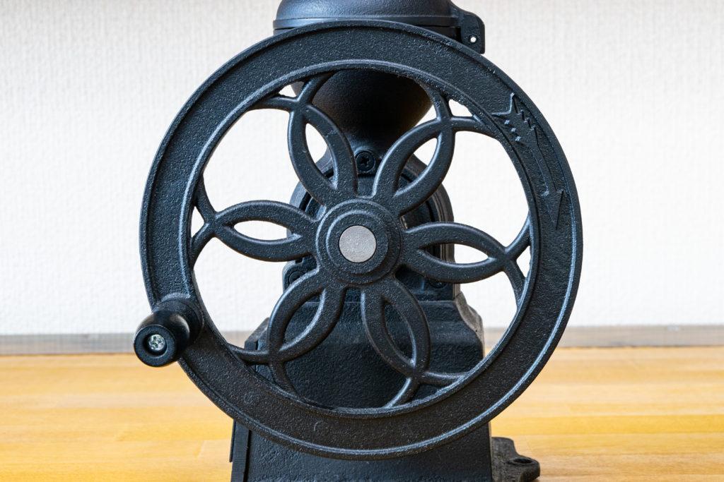 カリタ(Kalita)コーヒーミル ダイヤミルNのハンドル