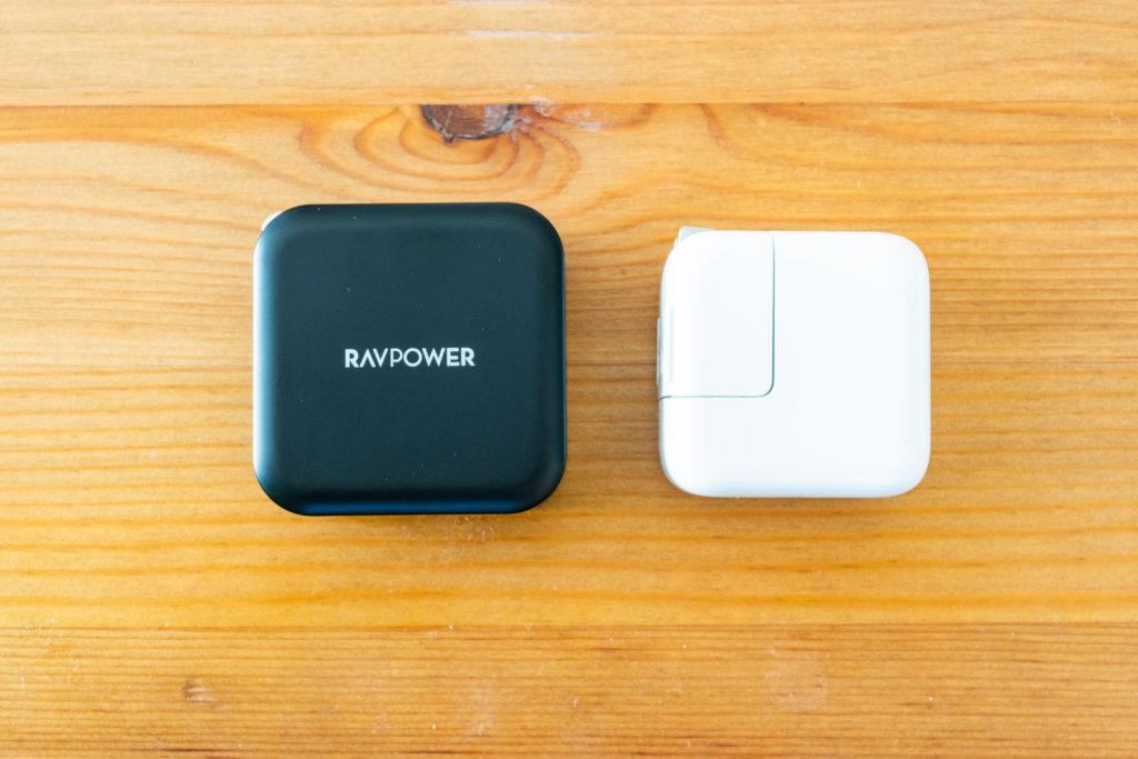 RAVPower USB 充電器 iPad充電器と比較