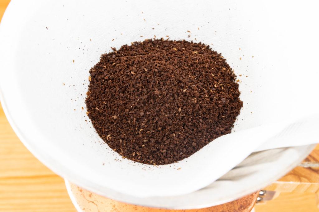カリタ(Kalita)コーヒーミル ダイヤミルNの挽き具合
