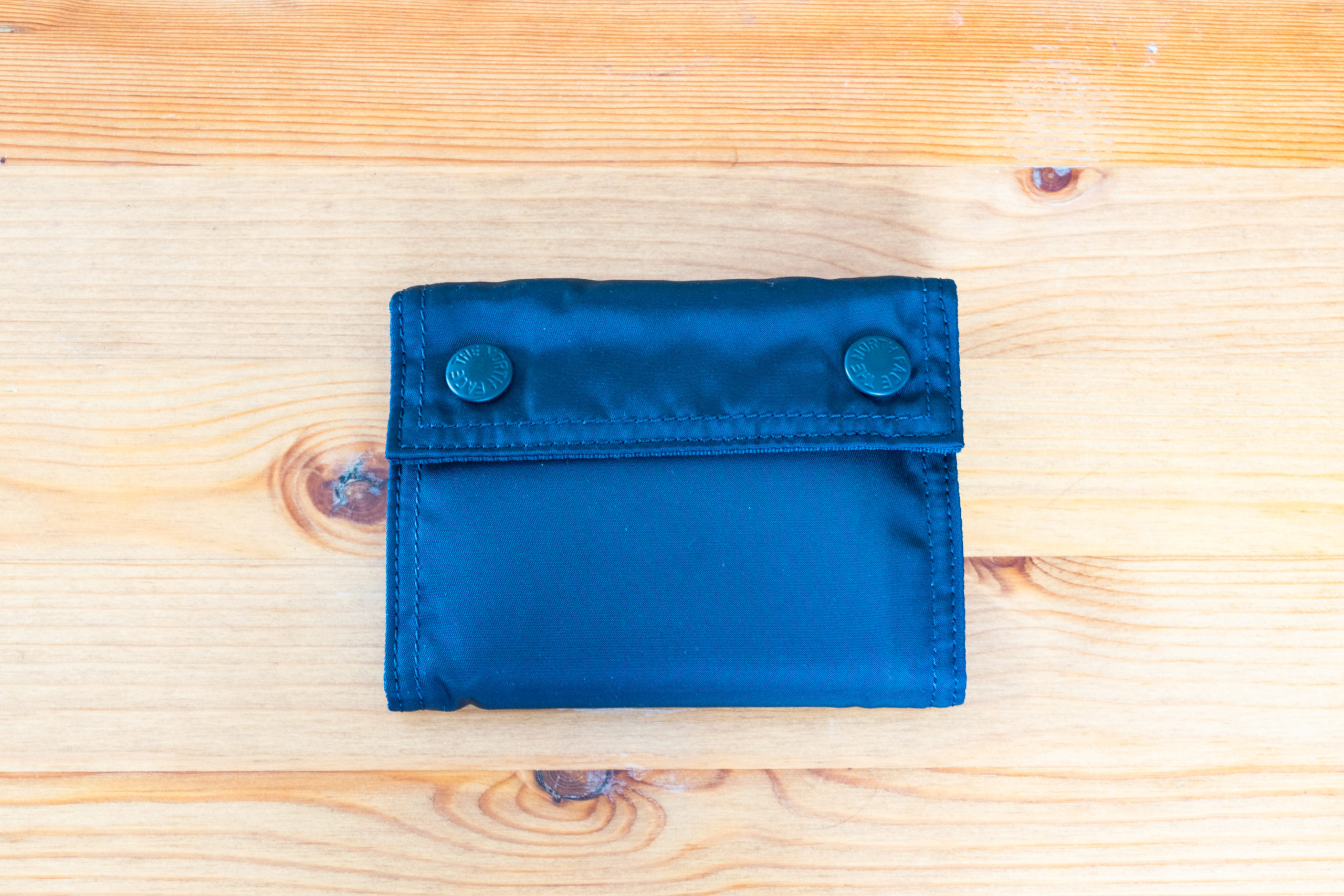 THE NORTH FACE PURPLE LABEL LIMONTA Nylon Wallet レビュー