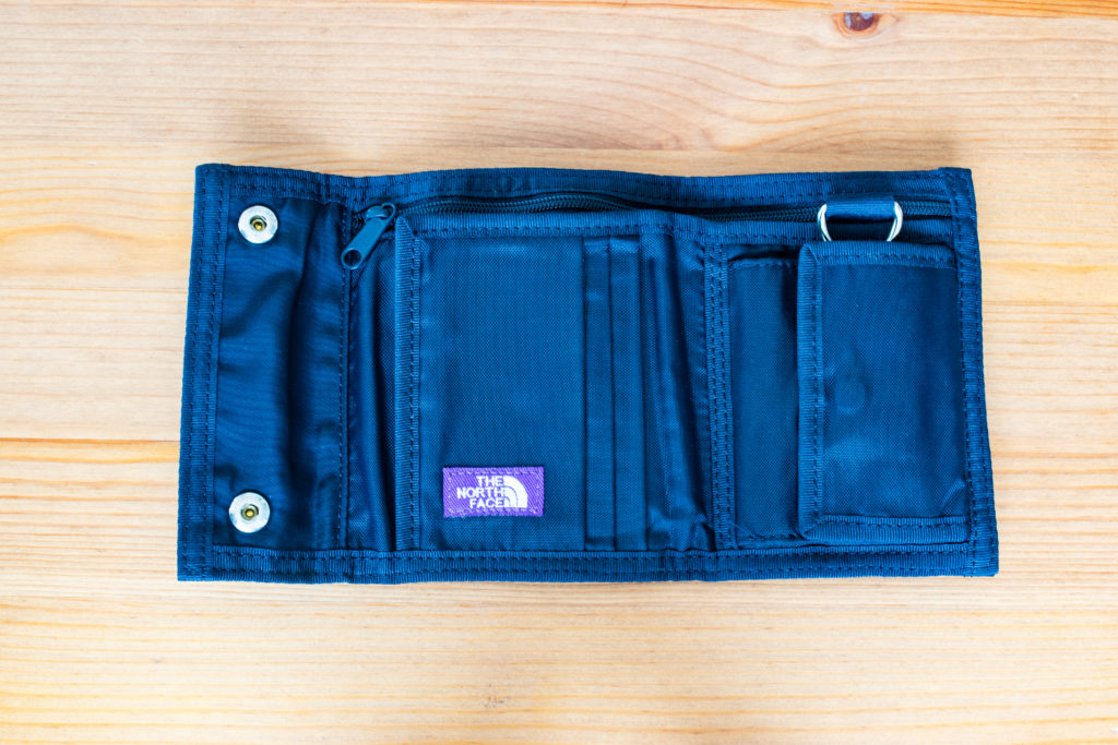 THE NORTH FACE PURPLE LABEL LIMONTA Nylon Walletレビュー