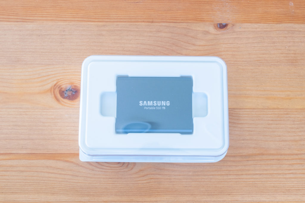 サムスン SSD T5 レビュー