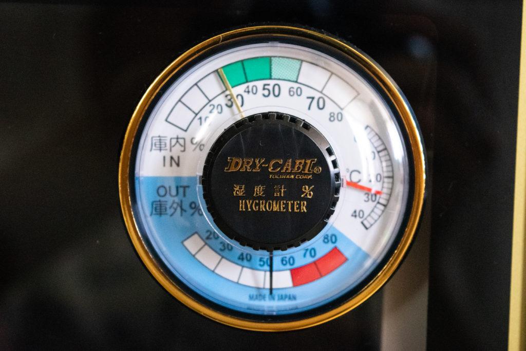 トーリ・ハン 防湿庫 レビュー 湿度計