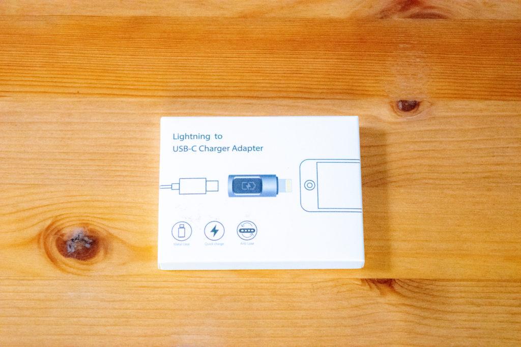 USB Type-CからLightningへ変換コネクタ レビュー