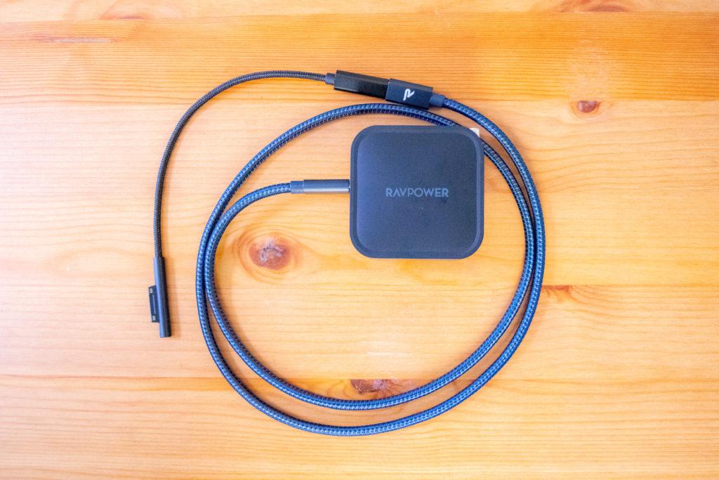 Surface 充電Connectポート USB Type-C変換ケーブル レビュー