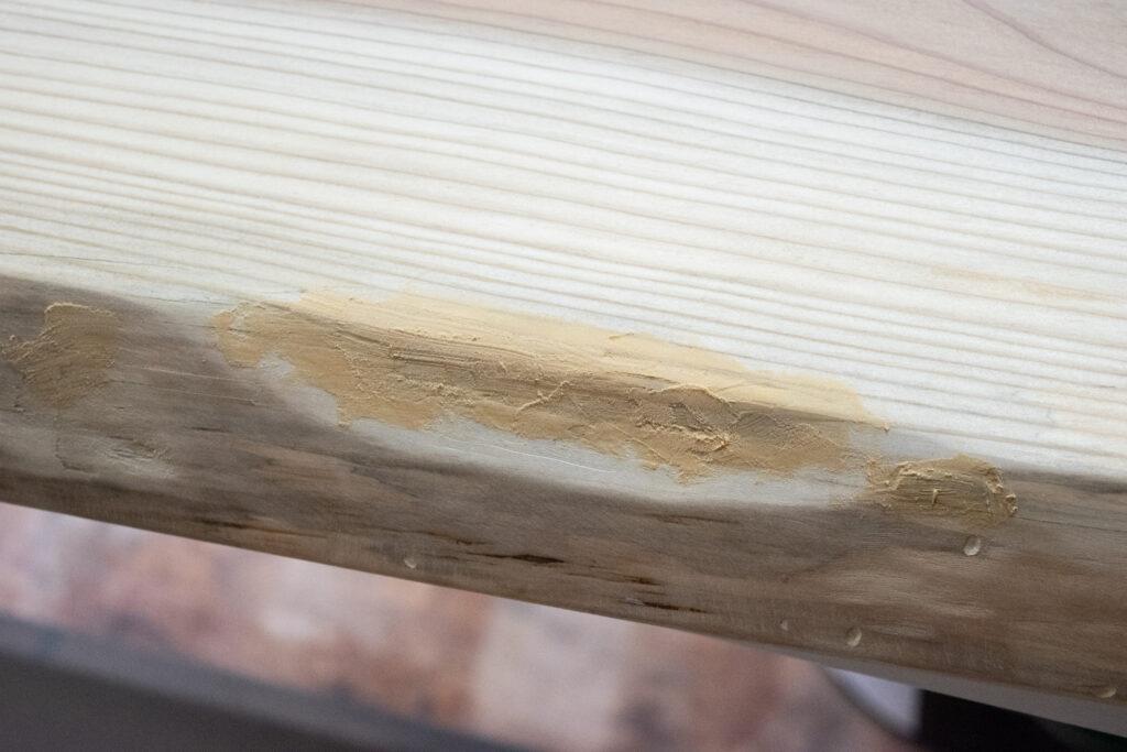 無垢の1枚板を天板にしてデスクを自作【DIY】