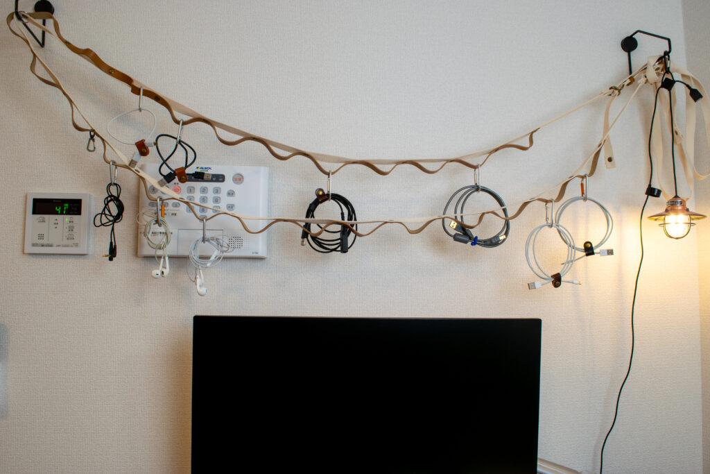 CLSハンギングチェーンで室内アウトドア風収納【レビュー、DIY】