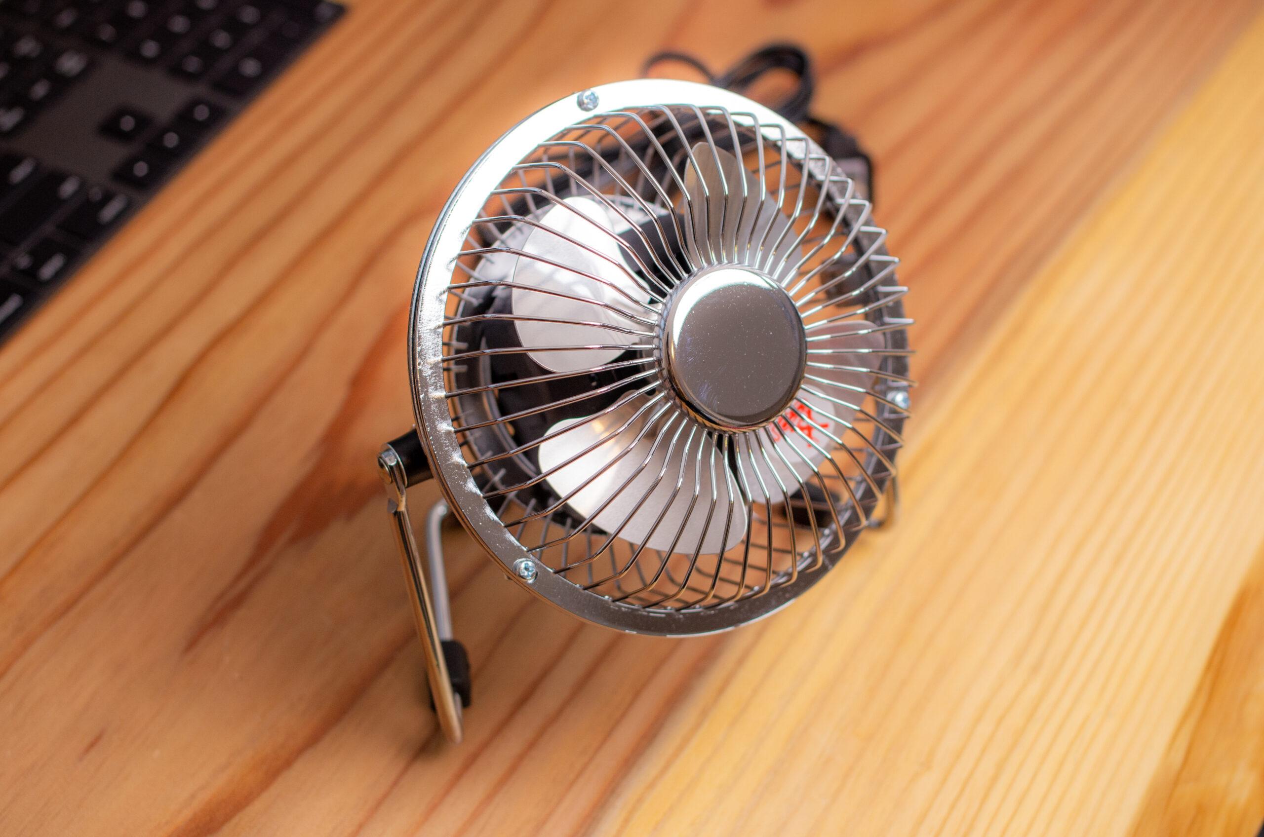 NICOH マグネットファン NA MF103 磁石付き卓上扇風機【レビュー】